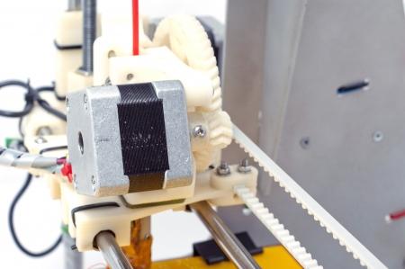 Photo of the  small machine detail  3D printer Stock Photo - 17879056