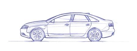 formula 1. hand drawn