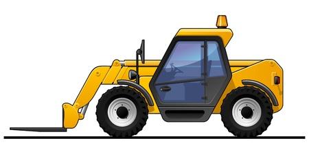 Forklift Stock Vector - 19664728