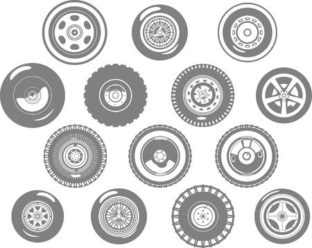 wheels Stock Vector - 19904824