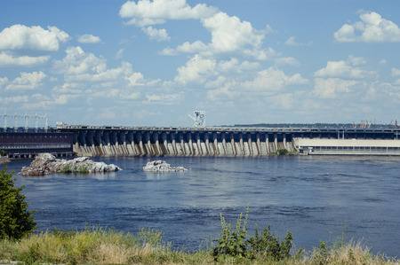dnepr: The Dnieper Hydroelectric Station  is the largest hydroelectric power station on the Dnieper River, placed in Zaporozhia, Ukraine