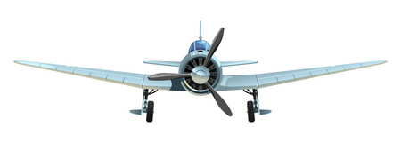 The plane of World War II  Simple gradients only - no gradient mesh  Vector