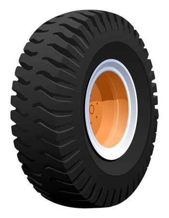 tire cover: illustration of a wheel
