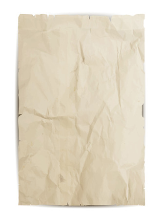 ilustración de la textura del papel. Vector grunge fondo. Ilustración de vector