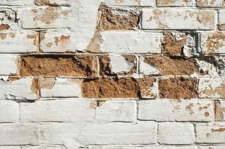 Photo de vieux milieux mur de briques. Vintage background. Banque d'images - 41173735