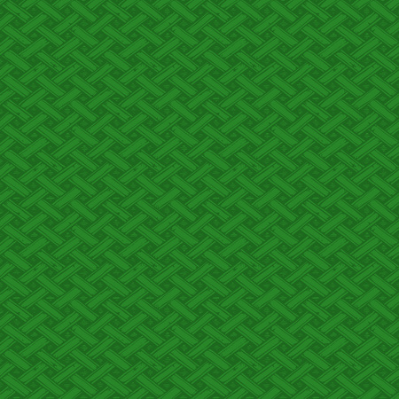 green celtic knots seamless pattern in ink hand drawn style.