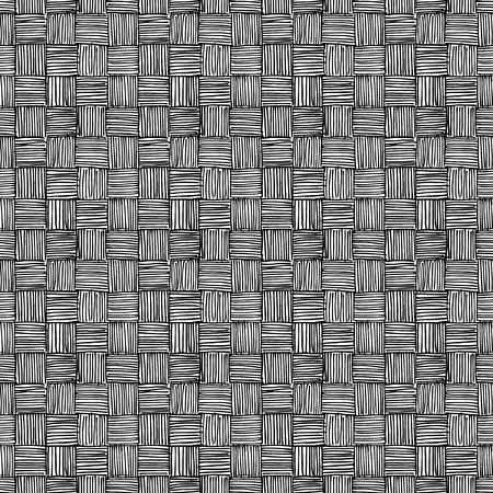 Seamless pattern of hand drawn sketches rough hatching grunge texture. Vector illustration Ilustración de vector