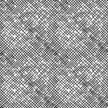Naadloos patroon van hand getrokken schetsen ruwe dwars het uitbroeden grunge textuur.
