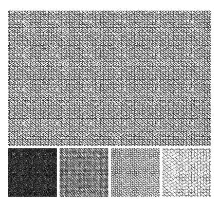 Modello senza cuciture di schizzi disegnati a mano ruvida trama tratteggiata grunge. La trama ha quattro diverse tonalità. illustrazione vettoriale Vettoriali