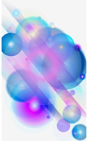 Abstract space vector background Vector