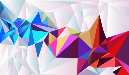gemstone background: Crystal paper. Vector abstract background
