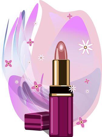 Lipstick. Vector cllipart Vector