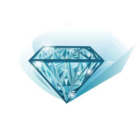 brillant: Sch�ne Beleuchtung Jewel Diamond isoliert