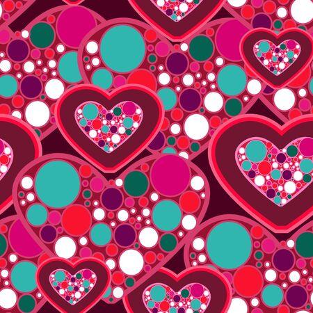 Love texture Stock Vector - 8720991