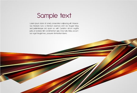 Abstract vector background with bright shapes Vector