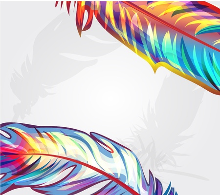 opalesce: Bright feathers