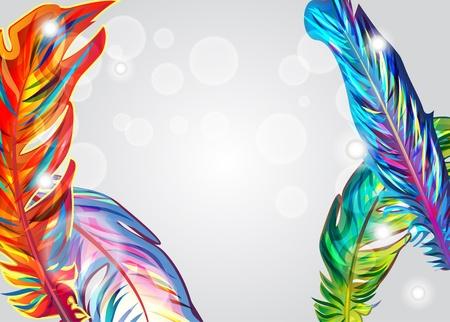 Bright background Illustration