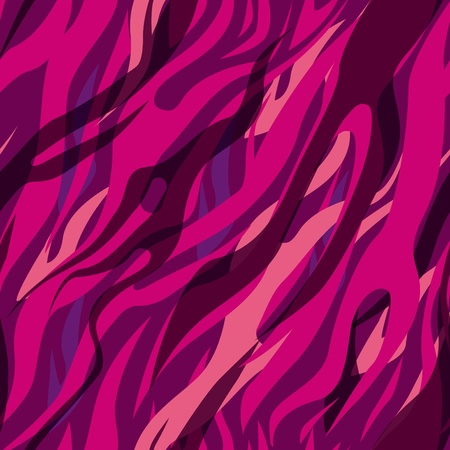 abstract seamless vector texure. Multicolor zebra pattern Vector