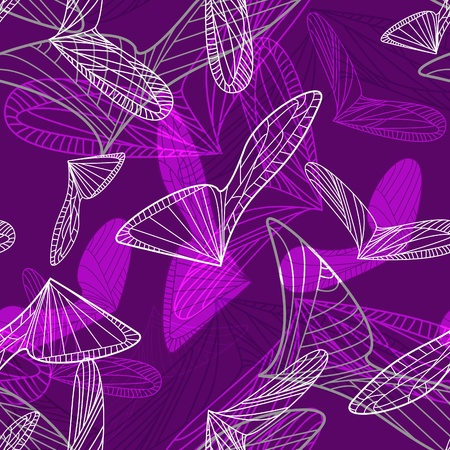 Abstract dark background with geometric shapes Vector