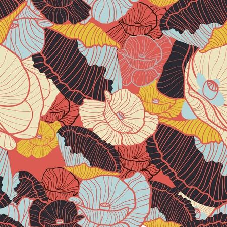 poppy pattern: Poppies pattern