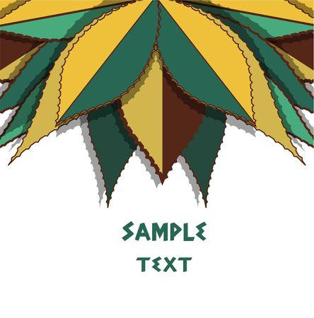 agave: Vector de fondo con las hojas brillantes
