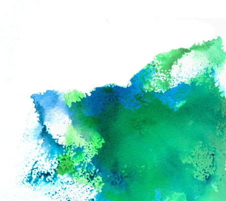 Abstract watercolor splash Stock Photo - 11275202