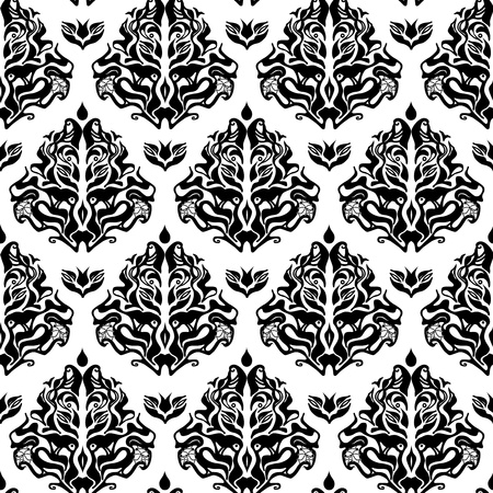 Abstract vector seamless background with original pattern Vector