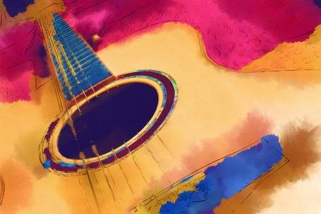 acoustic guitar: Guitar