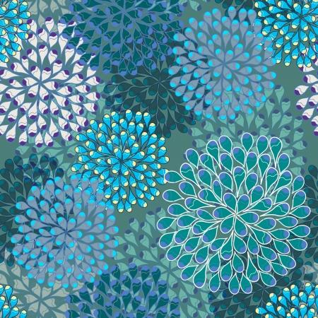 Bright naadloze vector patroon met multicolor druppels