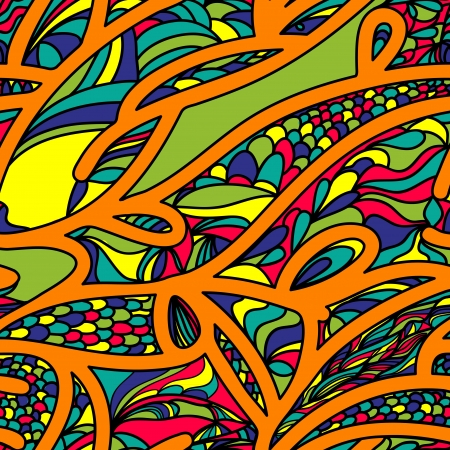 Abstract vector seamless background with original pattern Illustration