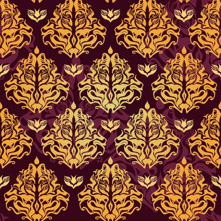 purple grunge: Abstract seamless background with original pattern