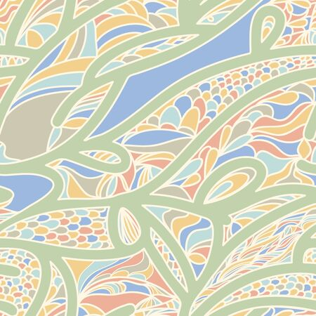 vitrage: Abstract  seamless background with original pattern Illustration