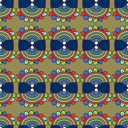 Texture transparente avec motif abstrait