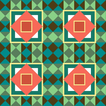 Seamless texture with abstract geometric pattern Stock Vector - 16414272