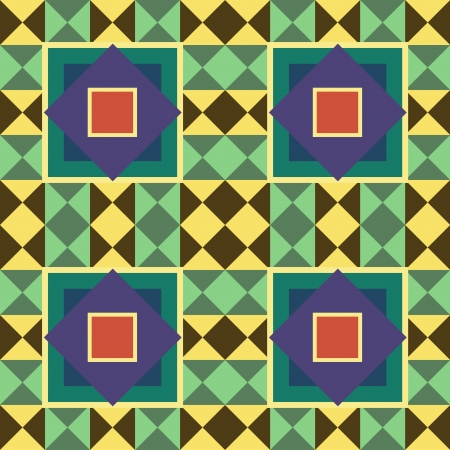 Abstract seamless texture with geometric pattern Vector