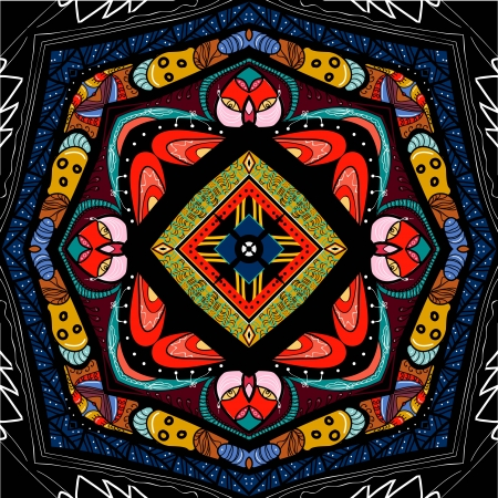 symmetrische sier mandala