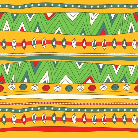 Seamless vector texture met tribal patroon