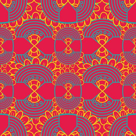 tilling: Seamless vector texture with abstract pattern
