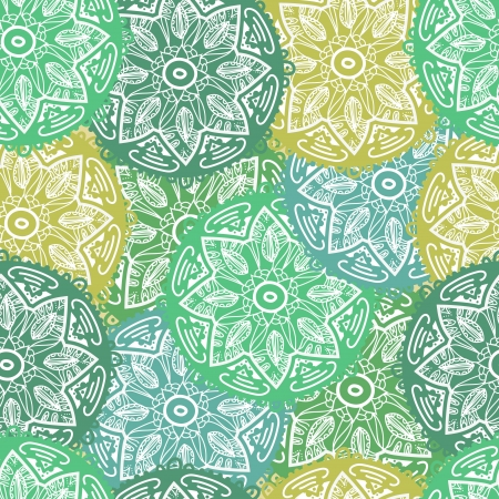 Seamless vector texture with abstract pattern Stock Vector - 16534968