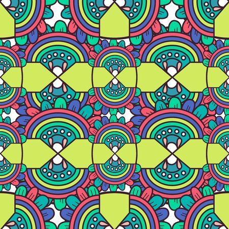 Seamless vector texture with abstract pattern Vector