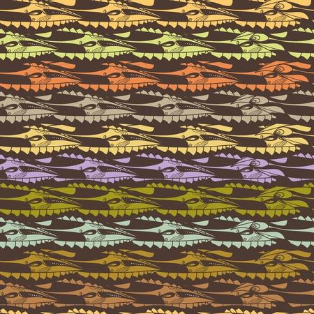scales of fish: Textura vector sin fisuras con el patr?bstracto