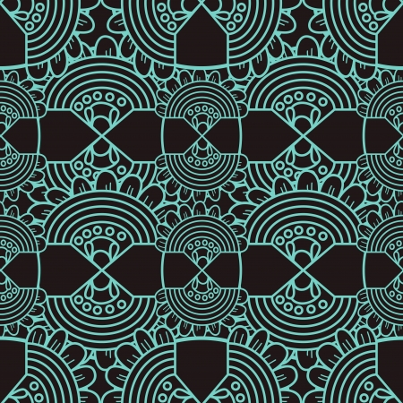 turquiose: Seamless vector texture with abstract pattern