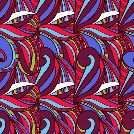 red indian: Seamless vector texture with abstract pattern