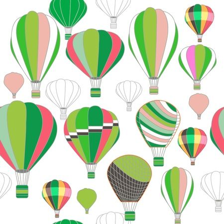 seamless pattern with balloons Stock Vector - 19990217