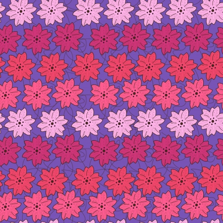 Seamless texture with small flowers Vector