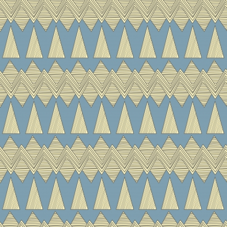 Seamless background with tribal abstract pattern Vector