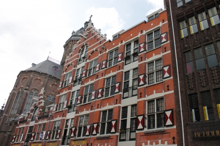 Typical houses in Amsterdam Stock Photo - 20289051