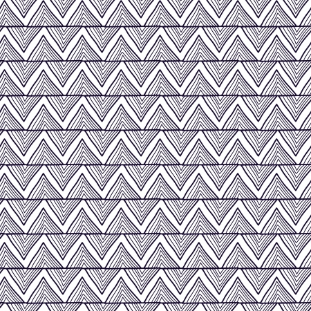Seamless  texture with drawing gray zigzag texture Illustration