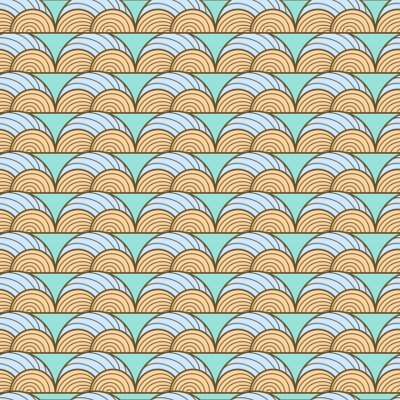 Seamless  background with abstract pattern Vector