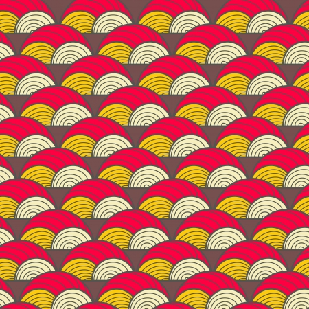 Seamless vector background with abstract pattern Vector